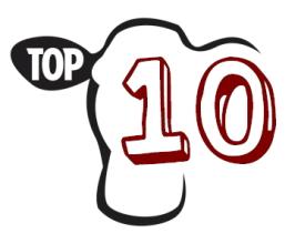 Klausytojų TOP 10