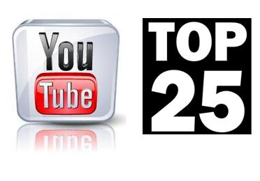 YouTube TOP 25