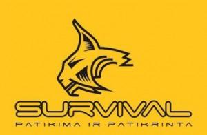 survival logo oranzinis suspaustas web'ui
