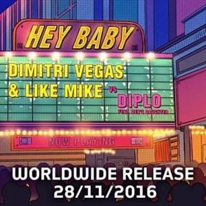 dimitri vegas likemike - Hey Baby